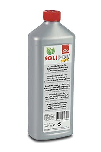 Solis Solipol Special Entkalker Kaffeevollautomat - Kafeemaschine Entkalker - Entkalker für Kaffeevollautomaten und Esspressomaschinen - Flüssig - 1L
