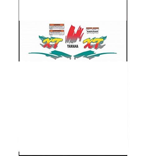 Kit adesivi decal stikers yamaha XT 600 E K 1991 1992 3TB (INDICARE IL MODELLO A o B o C o D)