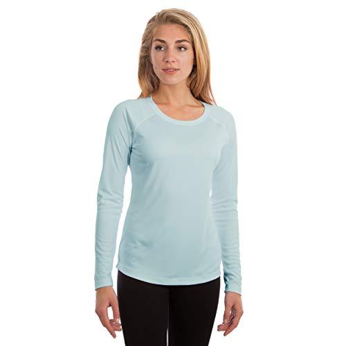 Vapor Apparel Damen Atmungsaktives UPF 50+ UV Sonnenschutz Langarm Funktions T-Shirt XX-L Arctic Blau