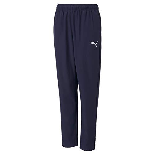 Puma Kinder teamRISE Sideline Pants Jr Jogginghose, Peacoat White, 152