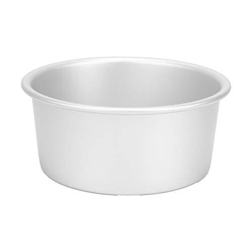 Molde para pastel redondo de 6 pulgadas Molde para hornear de aluminio Antiadherente de fácil liberación