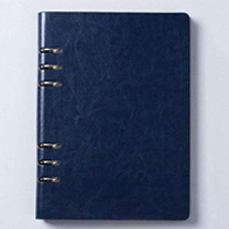 OIBHFO Home Nützliches 190Pages Deep Farbe Business Style-Notizbuch mit Abnehmbarer Seite (Deep Blau) B07LCXZJHM  | Vorzügliche Verarbeitung