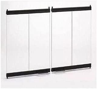 Majestic Original Bi-Fold Glass Doors w/Black Trim for SAC and SAR