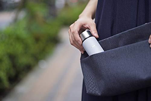 ポケットサイズだから、コーヒー1杯分をお出かけ時や通勤中に手軽に楽しむことができます。持ち運びにも適したシンプルな形状で、ポケットやカバンにすっきりと収まります。
