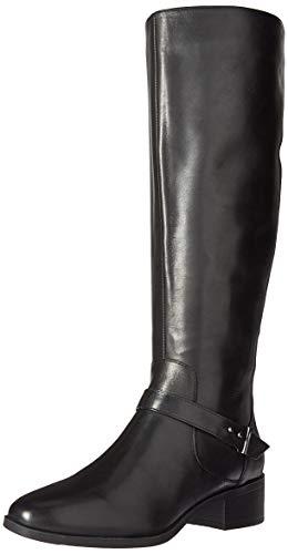 Bandolino Women's BLOEMA Fashion Boot, Black, 6 M US