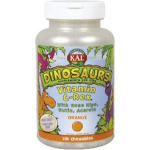 Vitamina C Rex Kal, 100 Dinosaurios masticables