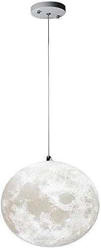 Waqihreu Araña de Luna de Dormitorio con impresión 3D, Creatividad Minimalista nórdica, Luces de Dormitorio para niños, utilizadas en restaurantes, pasillos, Balcones, Luces de Luna