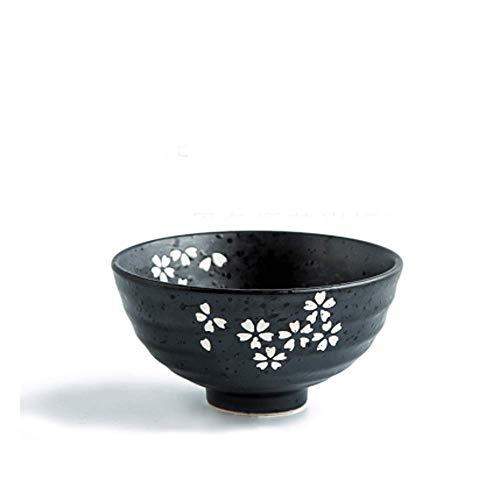 YNHNI Soup Bowl Tazón de cerámica Set de Cubiertos Placa Placa Placa Western Steak Ensaladera Microondas arroz Bowl Ensaladera Placa de Postre Plato vajilla de Estilo Europeo (Color : 2)