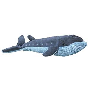 "Wildlife Artists Blue Whale Stuffed Animal Plush Toy, 18"" Long"
