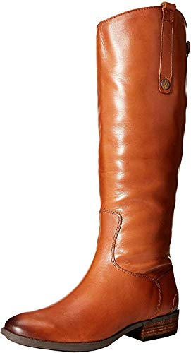 Sam Edelman womens Penny Classic Equestrian Boot, Whiskey, 8.5 US