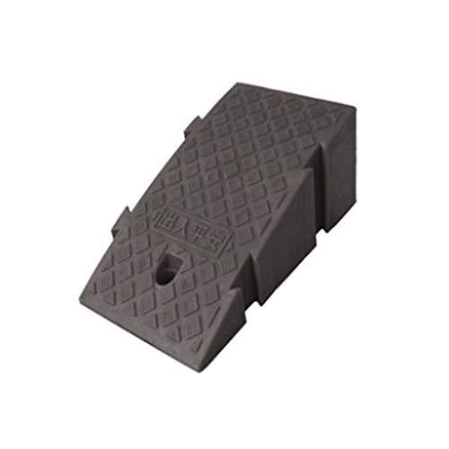 DYFYMX frenar rampas Pendiente umbral porción Ligera móvil badén Extremo Borde de la Carretera de un Negro de 19 * 45 * 25 cm rampas de sillas de Ruedas para los Pasos