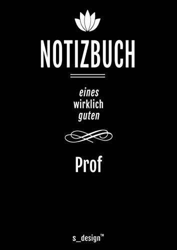 Notizbuch für Prof / Professor / Professoren / Dozenten: Originelle Geschenk-Idee [120 Seiten kariertes DIN A4 blanko Papier]