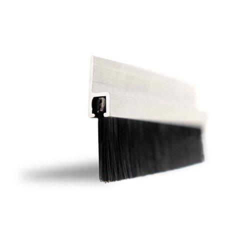 Holland Plastics Original Brand Weiss-Easy Fix DE501 Zugluftdichtung. Breite 914mm. 20mm Buersten. Dichtung Fuer Tuer und Fenster Inclusive Schraubensatz