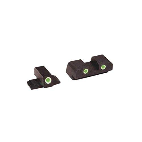 AmeriGlo Classic Tritium 3-Dot FN FNP9 Sight Set, Green