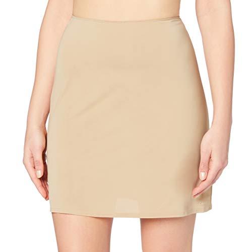 Calvin Klein Underwear - Jupon - Uni - Femme - Beige (Chair) - FR : 38 (Taille fabricant: Small)