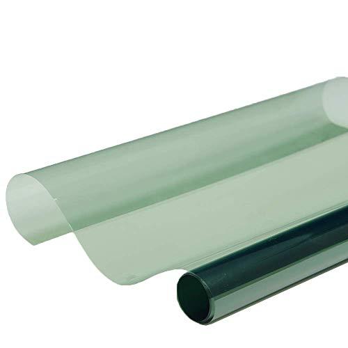 Emmala 101,6 x 152,4 cm 2 m kleur groen unieke helder voorruit voor autofolie 70% VLT UV-bescherming voor donkere glazen