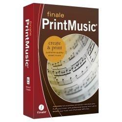 Finale PrintMusic 2014 - Musik komponieren, schreiben, anhören und ausdrucken… [Notationssoftware für PC/MAC]