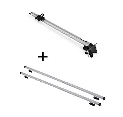 VDP Fahrradträger Bike Pro + Dachträger Rapid kompatibel mit Nissan Qashqai (J10) (5Türer) 06-14