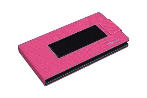 Hülle für Archos 50e Neon Tasche Cover Hülle Bumper | Pink | Testsieger