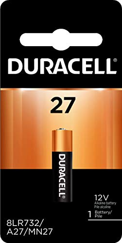Duracell - 27 Alkaline Batteries - long lasting, 12 Volt specialty battery for household and business - 1 count