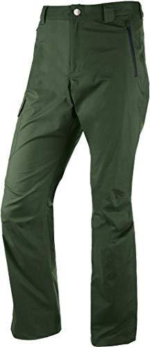 Crivit® Herren Trekkinghose aus Baumwolle - wasserabweisend, UV-Schutz 50+ (Gr. 50, waldgrün)