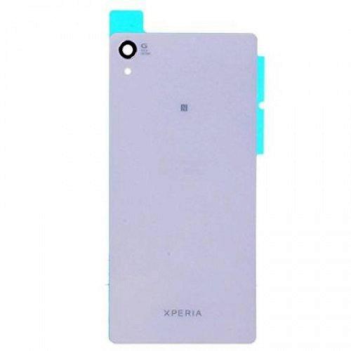 Sony Xperia Z2 Akkudeckel Cover Schale Backcover Gehäuse + Kleber Weiß / White