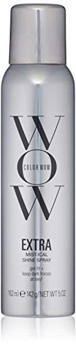 Price comparison product image COLOR WOW EXTRA Mist-ical Shine Spray for All Hair Types,  Thermal Protection,  5 oz.