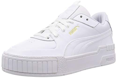 PUMA Cali Sport Wn's, Scarpe da Ginnastica Donna, Bianco White White, 38 EU