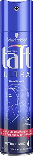 Schwarzkopf 3 Wetter Taft Haarlack, Ultra 24h Starker Halt 4, 5er Pack (5 x 250 ml)
