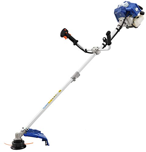 Wild Badger Power WBP52BCI 52cc Gas 2-Cycle 2-in-1 Brush Cutter and String Trimmer, Blue