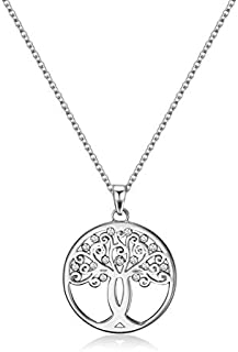 Mestige Necklace with Swarovski Crystals for Women - MFNE1004