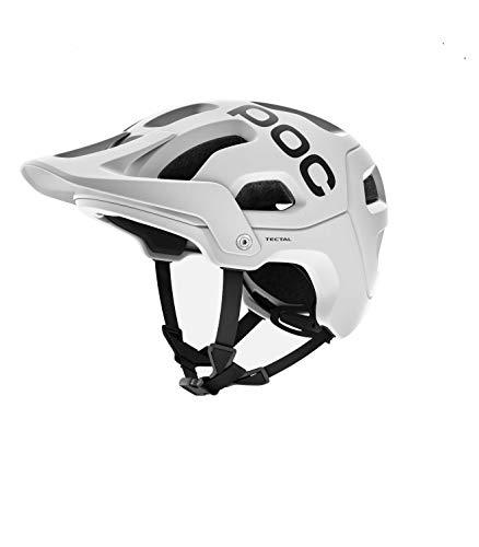 POC Tectal, Unisex Erwachsene Fahrrad Helm,weiß (Hydrogen White), M-L (55-58 cm)