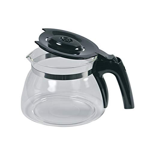 Glaskanne Kaffeekanne Kanne Glaskrug Kaffeekrug transparent schwarz ORIGINAL Melitta 6603038 Kaffeemaschine Filterkaffeemaschine eingesetzt in Enjoy