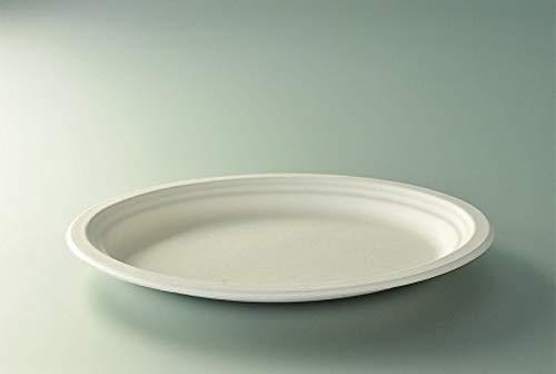 Aluplast Assiettes ovales x50/D26cm Canne à Sucre