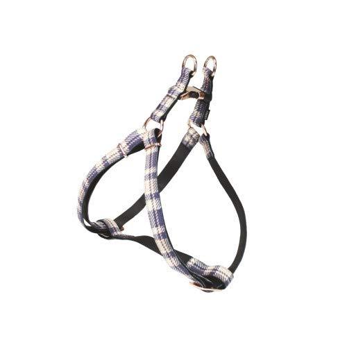 CROCI Mylord Bavette R/églable en Cuir pour Chien Turquoise cm 25-40 x 10 mm
