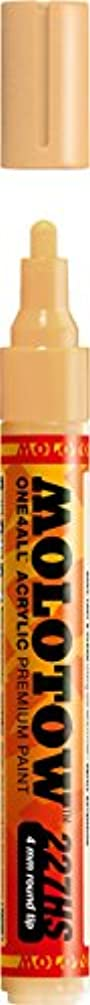Molotow ONE4ALL Acrylic Paint Marker, 4mm, Sahara Beige Pastel, 1 Each (227.226)