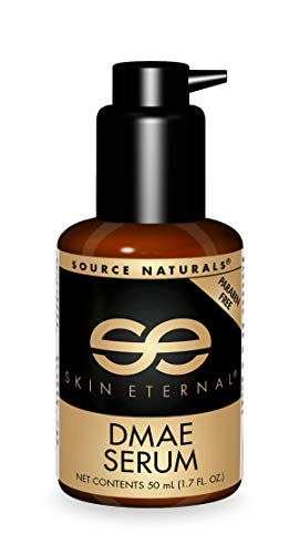 Source Naturals Skin Eternal DMAE Serum, Contains a Rich Blend of Nutrients and Plant Extracts, 1.7 Fluid Ounce