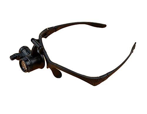 Gafas de Lupa con Reloj de Alta Velocidad de Alta resolución para Mantenimiento y reparación LED