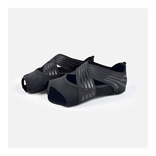 QWERBAM 3 Colores Antideslizante Yoga de Mujeres de la Aptitud de la Danza de Pilates Calcetines de Interior Yoga Zapatos Antideslizantes Gimnasio Calcetines Calcetines de Deporte de Las señoras