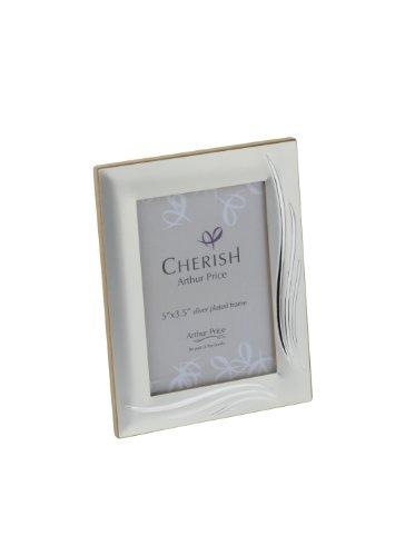 Cherish Weston - Cornice portafoto per Foto da 9 x 13 cm, Argentata