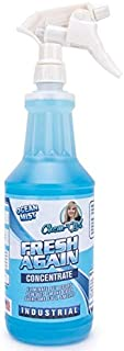 Chem-Girl | Fresh Again Odor Remover & Deodorizer - Neutralizes Foul Odors in Upholstery, Carpet, Air, Shoes, Rugs, Clothes, Dog Beds, Litter Boxes | Industrial Strength Concentrate - 1 Quart