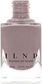 ILNP Coffee Run - Creamy Mocha Neutral Nude Nail Polish, Subtle Holographic, Chip Resistant, 7-Free, Non-Toxic, Vegan, Cruelty Free, 12ml