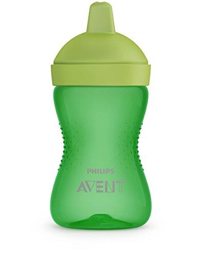 Philips AVENT SCF804/03 vaso de aprendizaje con boquilla Vaso con pajita 300 ml - Vasos de aprendizaje con boquilla (Vaso con pajita, 1,5 mes(es), Verde,...
