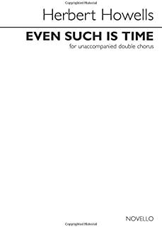 Even Such is Time