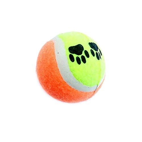 PULABO Hundespielzeug Tennisbälle Laufen Fangen Werfen Spielen Spielzeug Kauen Spielzeug Heimtierbedarf Umweltbeständigkeit praktisch