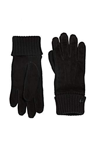 ESPRIT Accessoires Damen 110EA1R302 Winter-Handschuhe, 001/BLACK, L