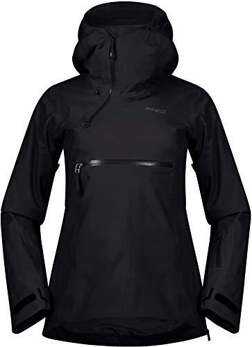 Bergans Stranda Isolierender Hybrid Anorak Damen Black/solid Charcoal Größe S 2020 Jacke