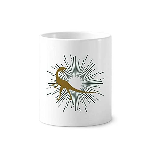 Look Animals Alert Catch Art Deco Regalo Moda Cepillo de Dientes Titular de la Pluma Taza Cerac Stand Pencil Cup