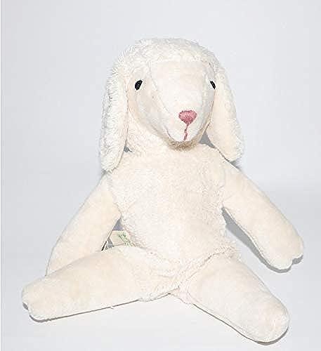 Animal en peluche mouton blanc 50 cm fabriqué à main