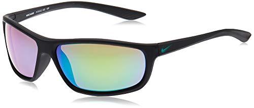 Nike Rabid P Ev1111, Gafas De Sol Hombre, Mt Black/polar Grey W Green Mi (010)